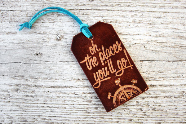 Dr Seuss Quote Luggage Tag - Exsect Inc. - 3