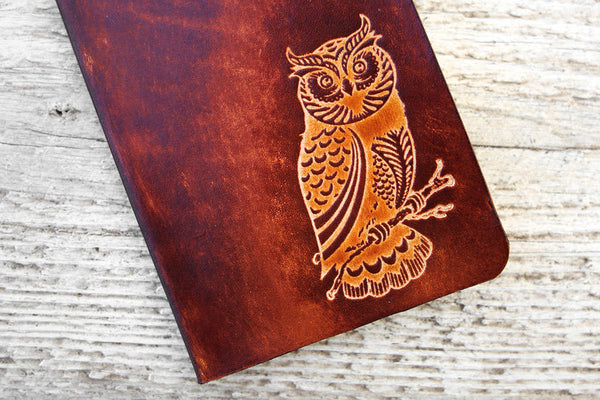 Genuine Leather Owl Travel Wallet - Exsect Inc. - 1