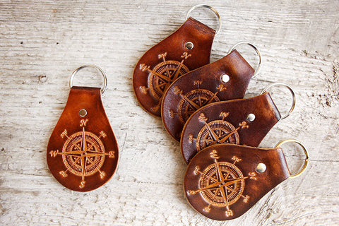 Bulk Wholesale Compass Keychains - Exsect Inc. - 1