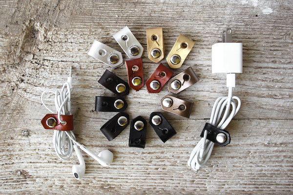 Leather Cord Organizers - Enjoy the Little Things! - Exsect Inc. - 2