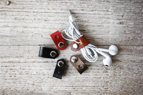 Leather Cord Organizers - Enjoy the Little Things! - Exsect Inc. - 1