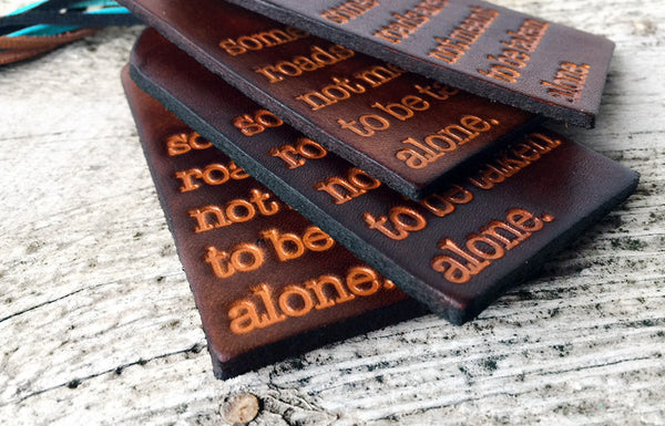 Some Roads Are Not Meant To Be Taken Alone Luggage Tag - Exsect Inc. - 3