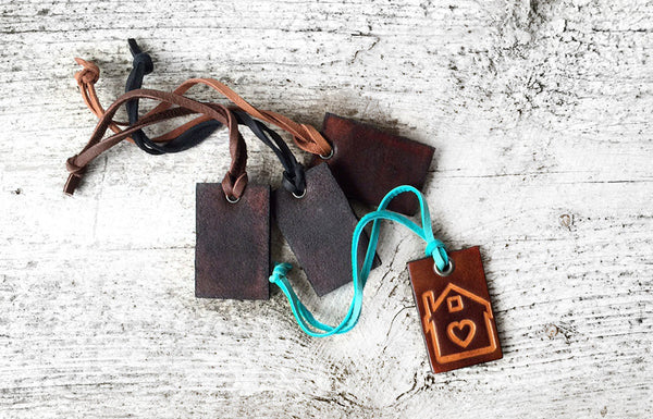 New Home Gift Leather Keychain - Exsect Inc. - 5
