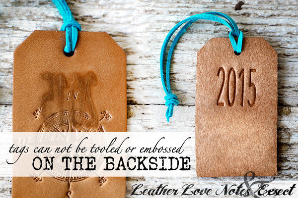 Personalized Luggage Tag Wedding Favors - Genuine Leather - Exsect Inc. - 5
