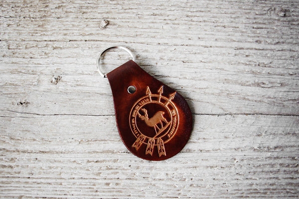 Personalized Logo Leather Keychains - Exsect Inc. - 2