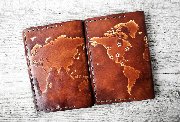 Personalized Map Passport Cover - Exsect Inc. - 5