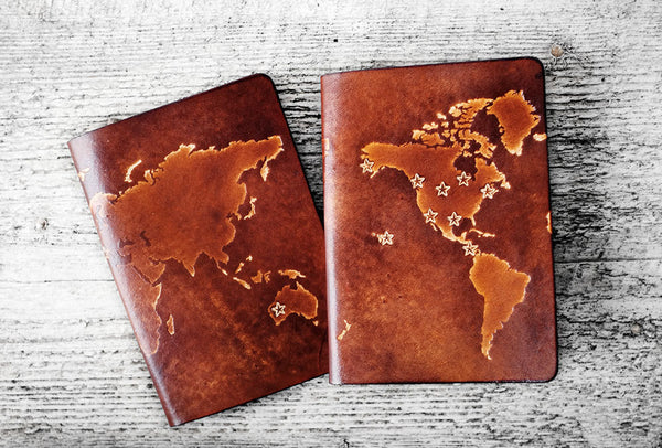 Personalized Map Passport Cover - Exsect Inc. - 4