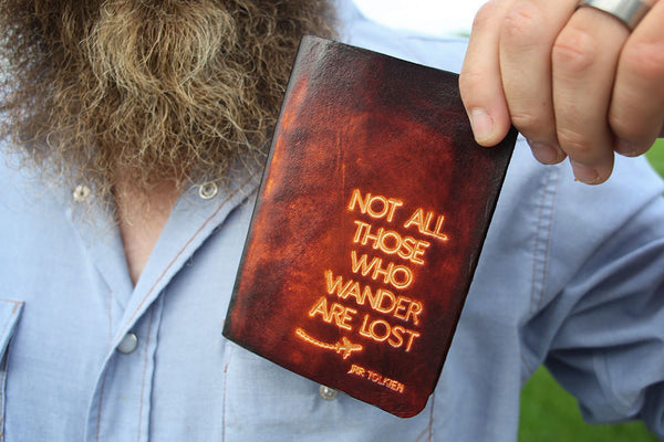 Not All Those Who Wander Are Lost Passport Cover - Exsect Inc. - 3