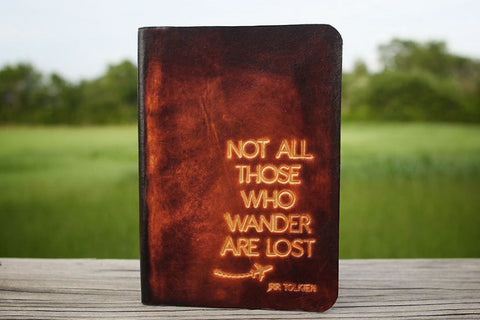 Not All Those Who Wander Are Lost Passport Cover - Exsect Inc. - 1