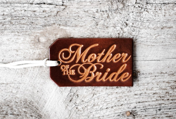 MOTHER of the BRIDE Wedding Party Leather Gift Set - Exsect Inc. - 3
