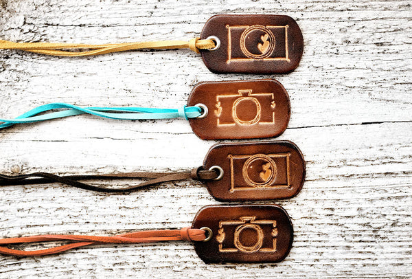 Camera Leather Keychain - Exsect Inc. - 3