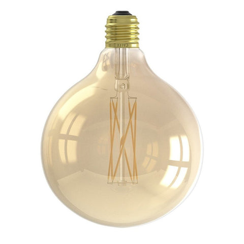 E27 4W LED Gold Mega Edison 125mm Filament Bulb