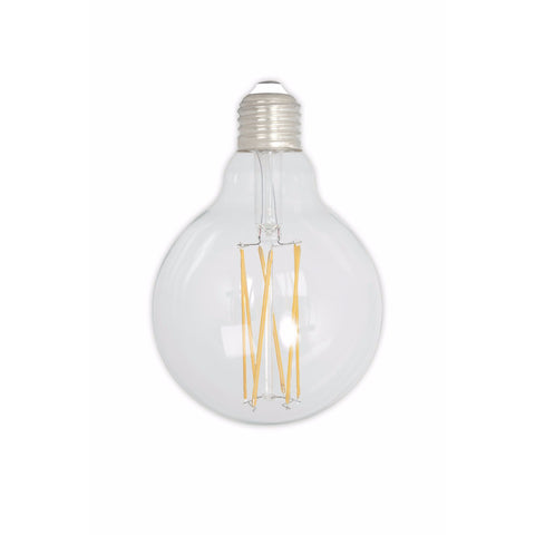 E27 Dimmable 6W LED 80mm Globe Filament Bulb