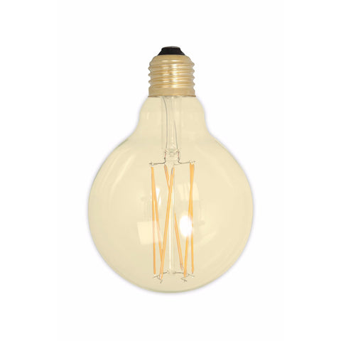 E27 Dimmable Gold 4W LED 95mm Globe Filament Bulb