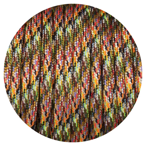 Aztec Harlequin Round Fabric Braided Cable