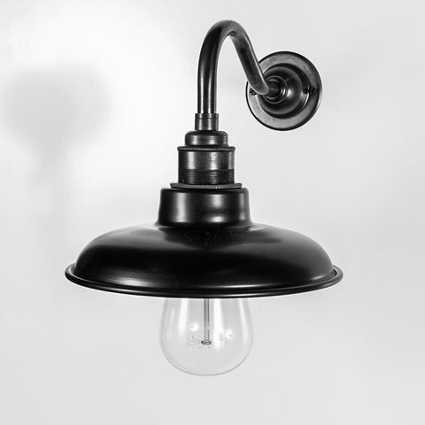 Desmond Black Wall Light