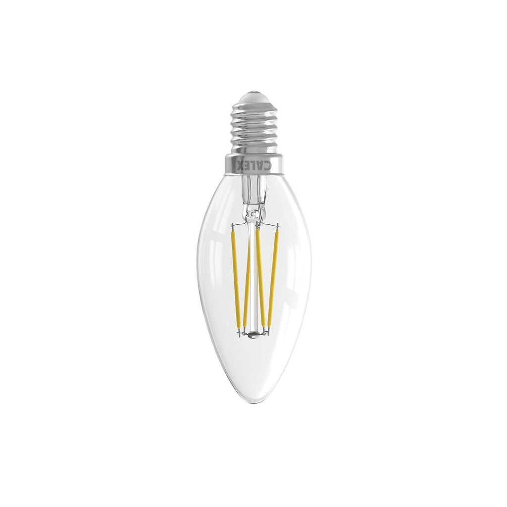 E14 3.5W Dimmable LED Candle Bulb Clear