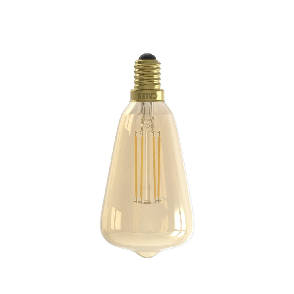 E14 4W Dimmable LED Mini Edison Bulb Gold