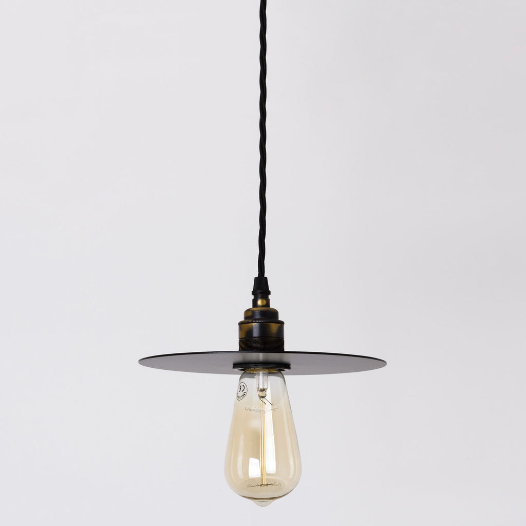 Disc Small Flat Circular Pendant Lamp - All Colours