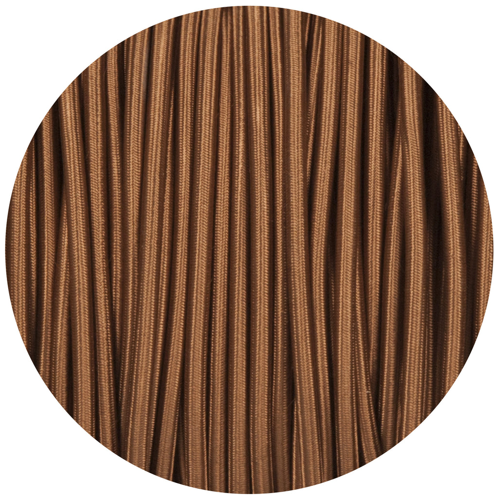 Havanna Gold Round Fabric Braided Cable