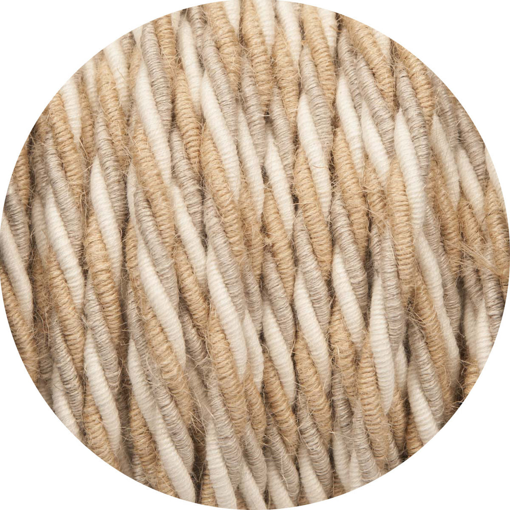 Natural Linens Twisted Fabric Cable