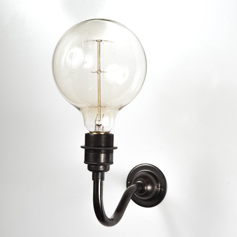Orville Black Wall Light