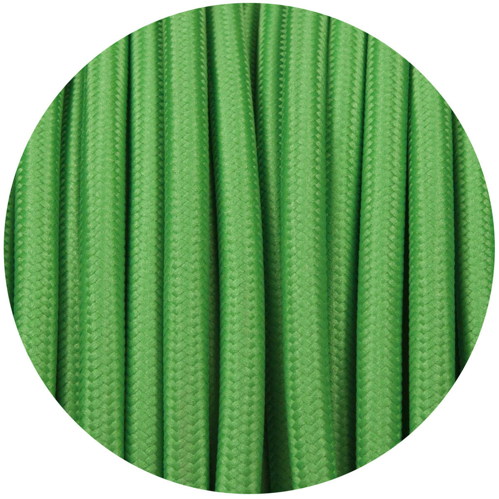 Sage Green Round Fabric Cable