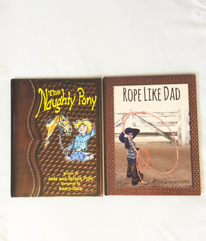 *Best Deal Bundle* The Naughty Pony AND Rope Like Dad