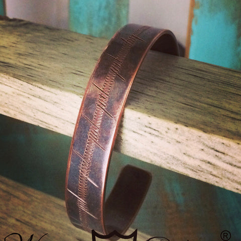 Custom Copper Bracelet