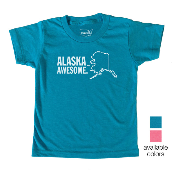 Alaska Awesome Kids T-Shirt