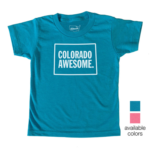 Colorado Awesome Kids T-Shirt