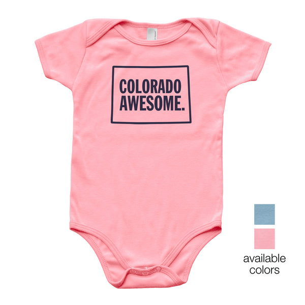 Colorado Awesome Baby Onesie