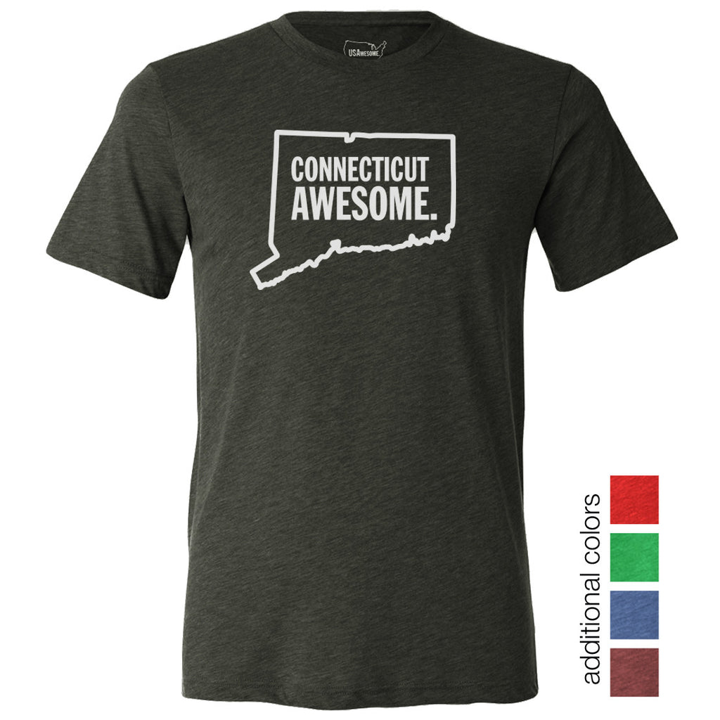 Connecticut Awesome Unisex T-Shirt