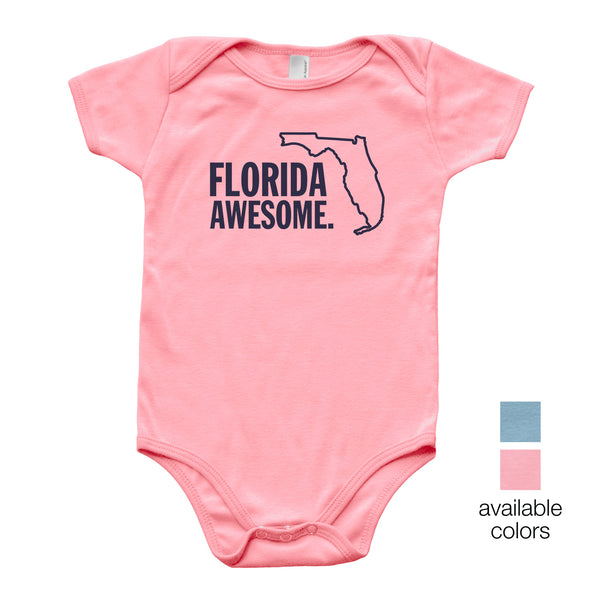 Florida Awesome Baby Onesie