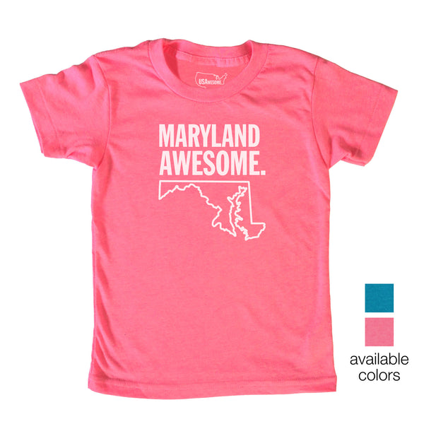 Maryland Awesome Kids T-Shirt
