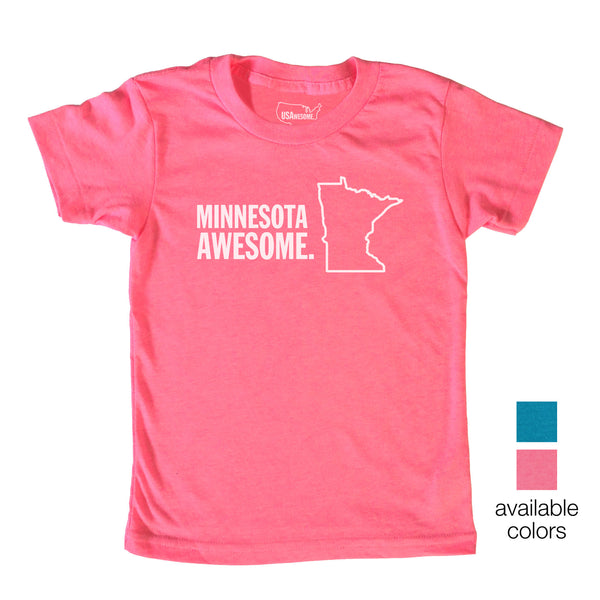 Minnesota Awesome Kids T-Shirt