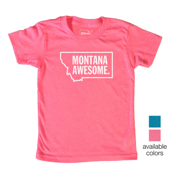 Montana Awesome Kids T-Shirt