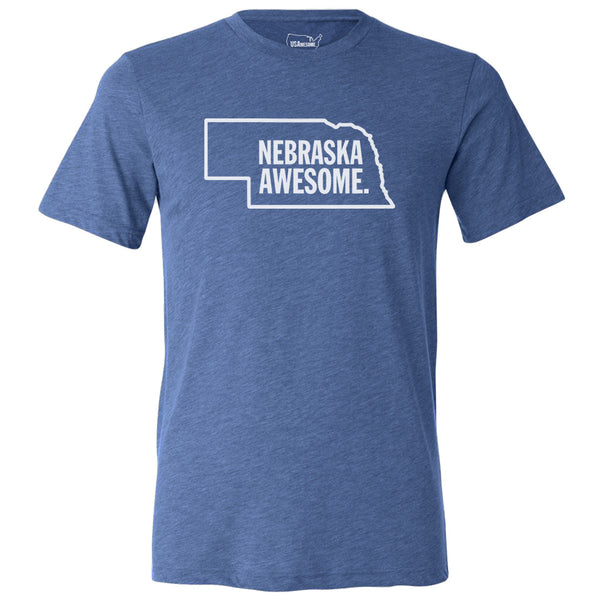 Nebraska Awesome Unisex T-Shirt