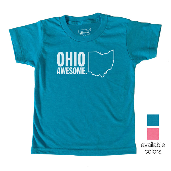 Ohio Awesome Kids T-Shirt