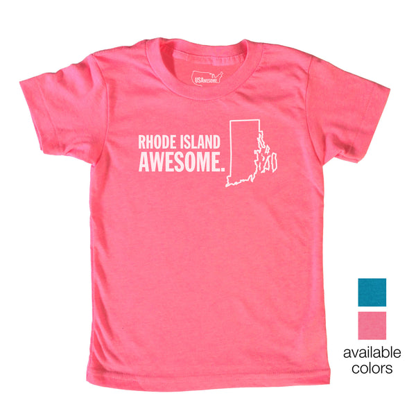 Rhode Island Awesome Kids T-Shirt