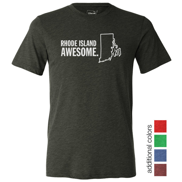 Rhode Island Awesome Unisex T-Shirt
