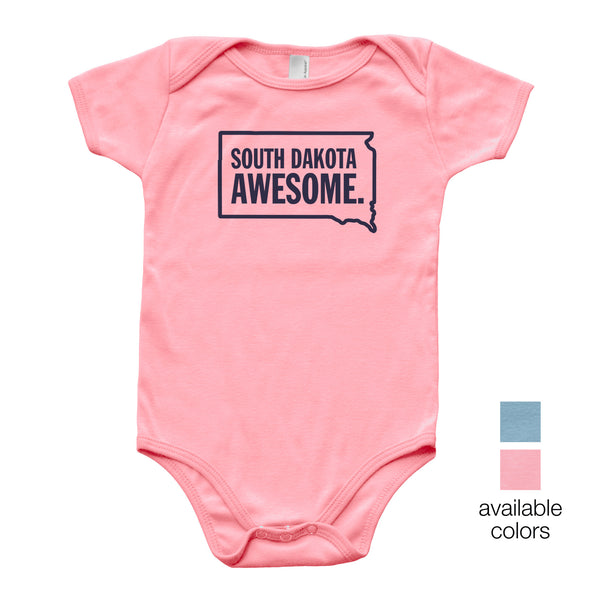 South Dakota Awesome Baby Onesie