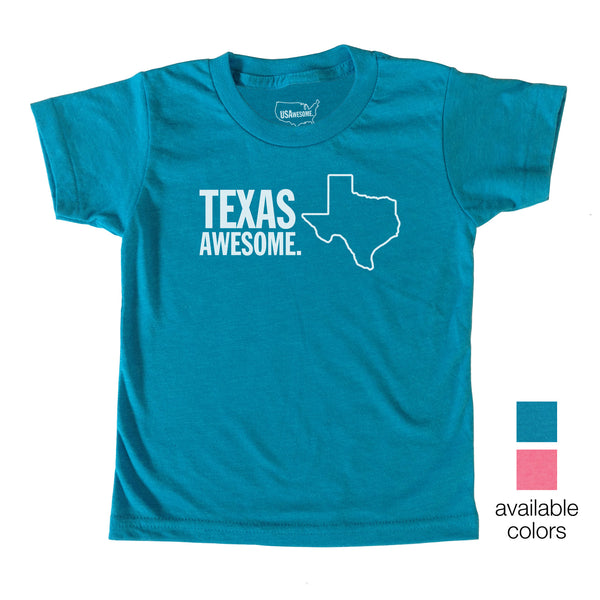 Texas Awesome Kids T-Shirt