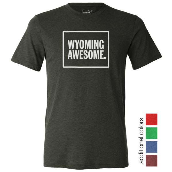 Wyoming Awesome Unisex T-Shirt