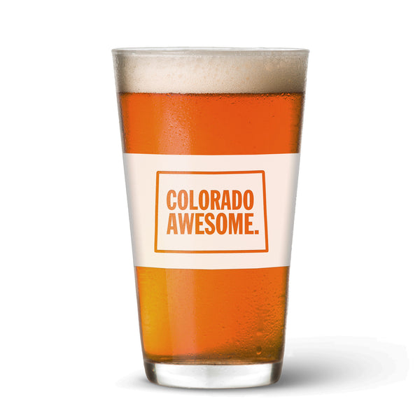 Colorado Awesome Pint Glass