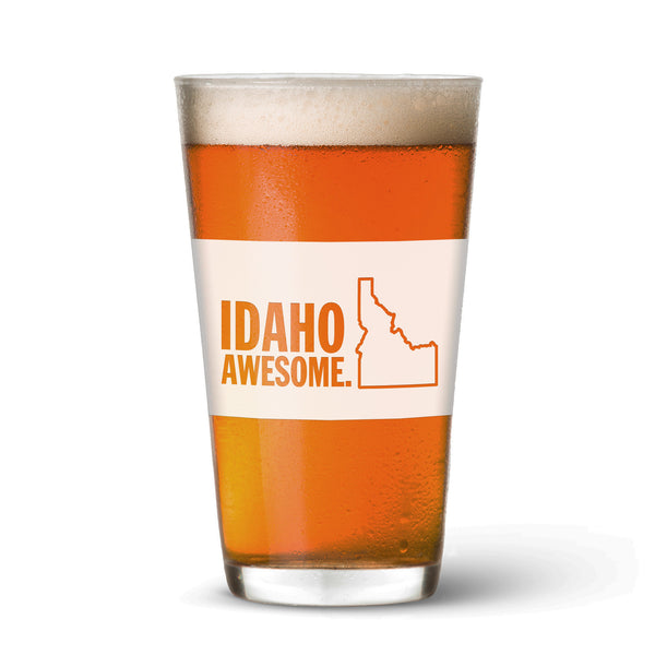Idaho Awesome Pint Glass