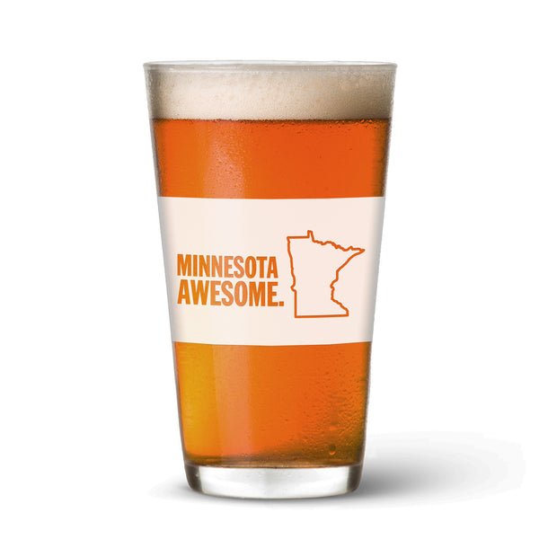 Minnesota Awesome Pint Glass