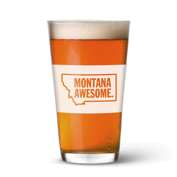 Montana Awesome Pint Glass