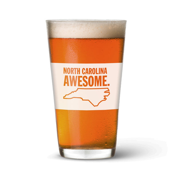 North Carolina Awesome Pint Glass
