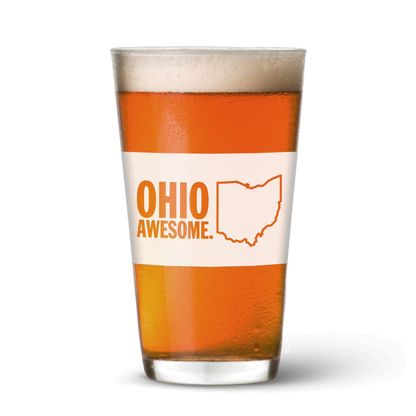 Ohio Awesome Pint Glass